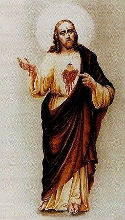 """Résultat de recherche d'images pour """"sacré coeur Loublande image du christ"""""""